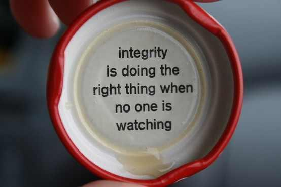 Definición integridad responsabilidad