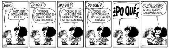 Mafalda por qué